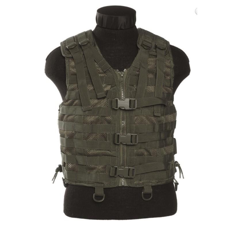 Tactical Vest - net, modular system, od green