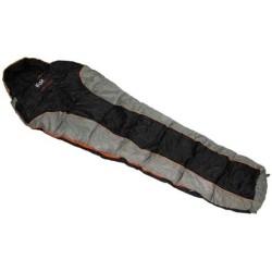 """Мумия спальный мешок """"Advance"""", черный / серый"""