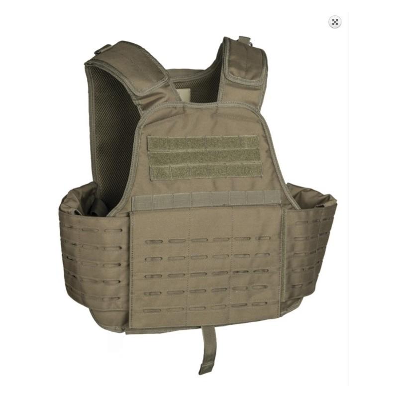 Tactical Carrier Vest Laser cut molle, od green
