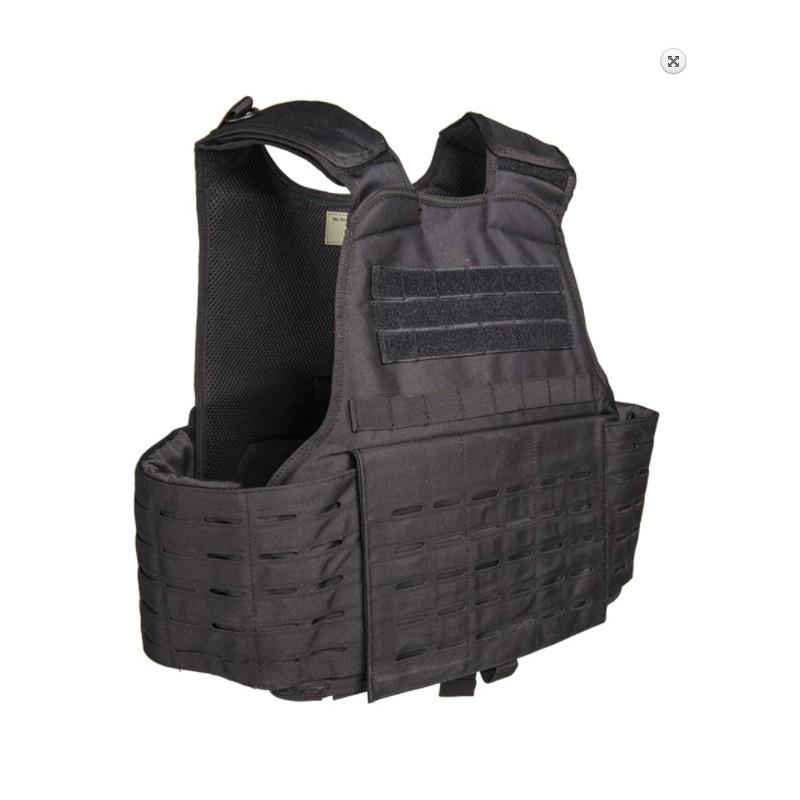 Tactical Carrier Vest Laser cut molle, black