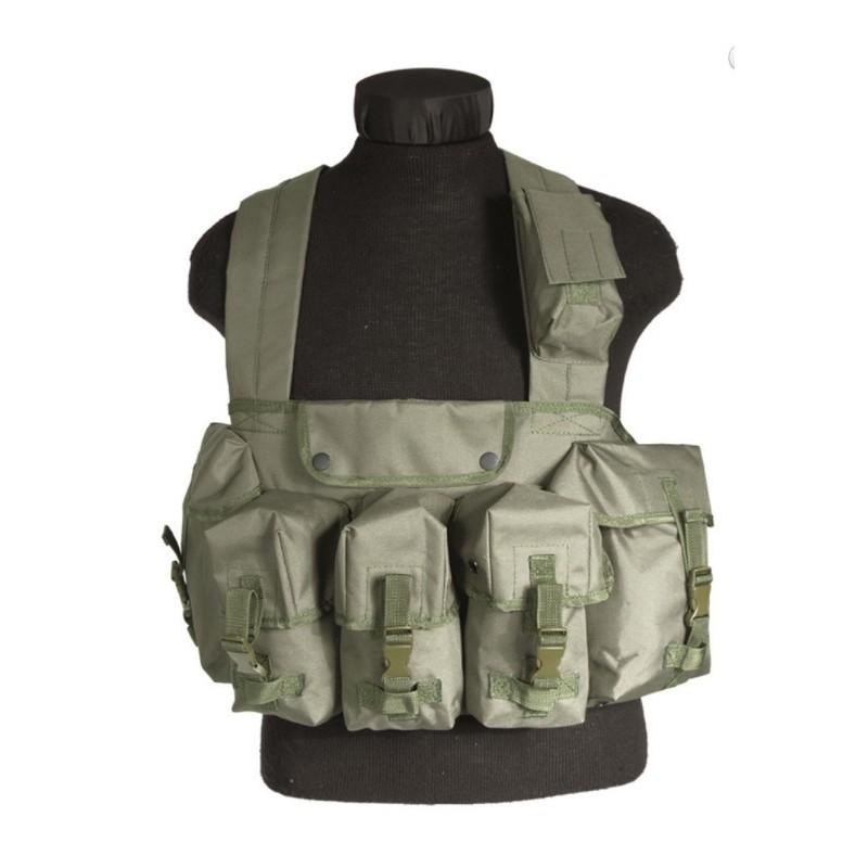 Chest Rigg 6-pockets, od green