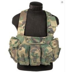 Chest rigg vest 6-taskuga, metsalaiku