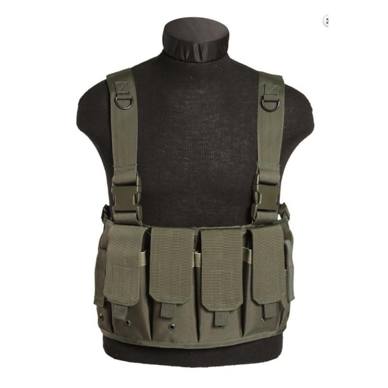 Chest rigg vest Mag Carrier, oliivroheline