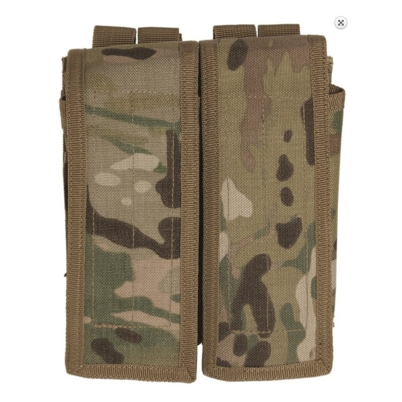 Double AK47 Magazine pouch, multitarn