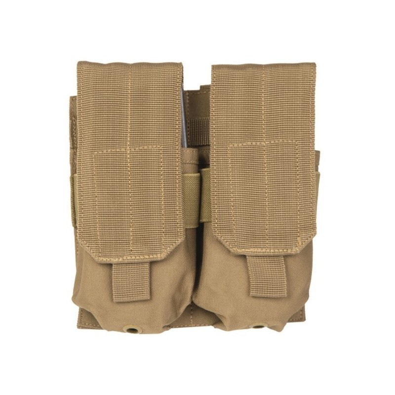 M4/M16 double Molle Magazine pouch, coyote tan