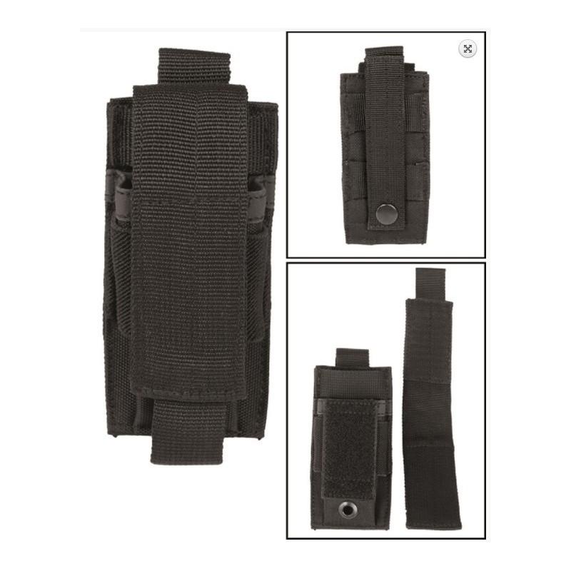 Pistol single Molle Magazine pouch, black