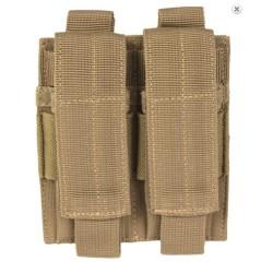 Pistol Molle double Magazine pouch, multitarn