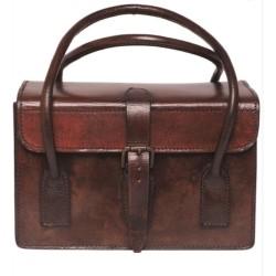 Кожаный кошелек, коричневый