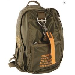 """Seljakott langevarju koti stiilis """"Deployment bag 6"""", oliivroheline"""