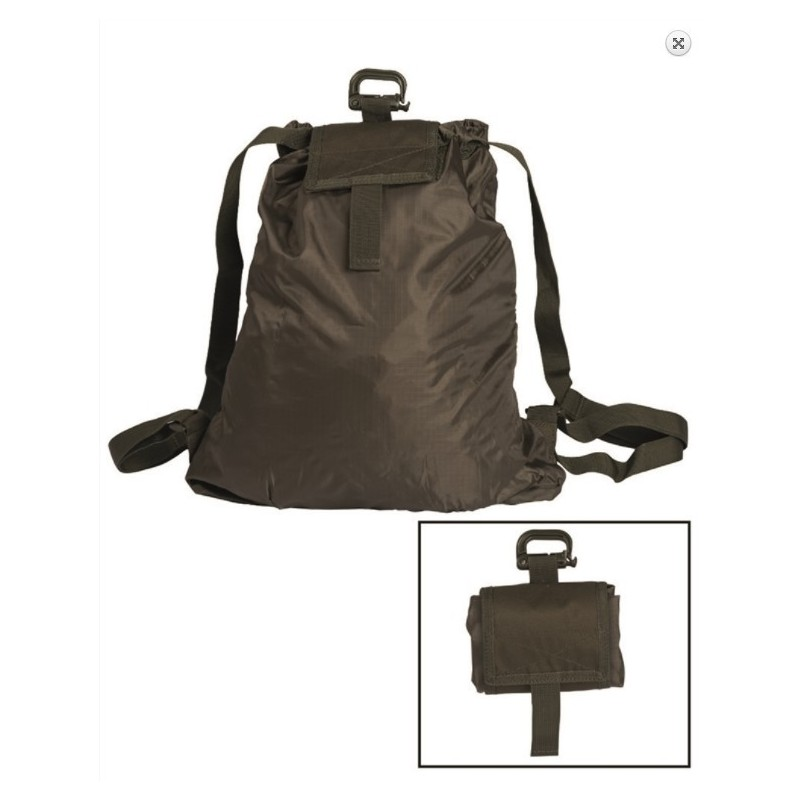 Kokkurullitav seljakott Roll-up, oliivroheline