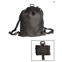 Kokkurullitav seljakott Roll-up, must