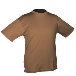Тактический футболка, быстро сухой, dark coyote
