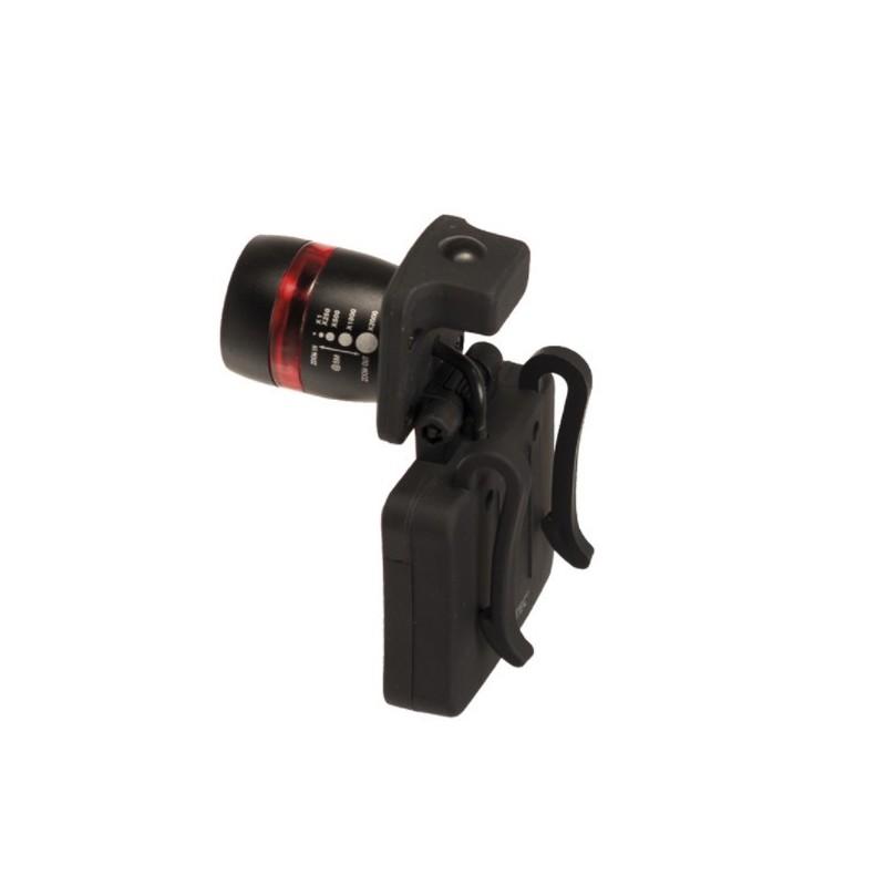 Cap light, LED Cree, focusable, black