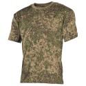 US футболка, в классическом стиле, русский Digi Camo