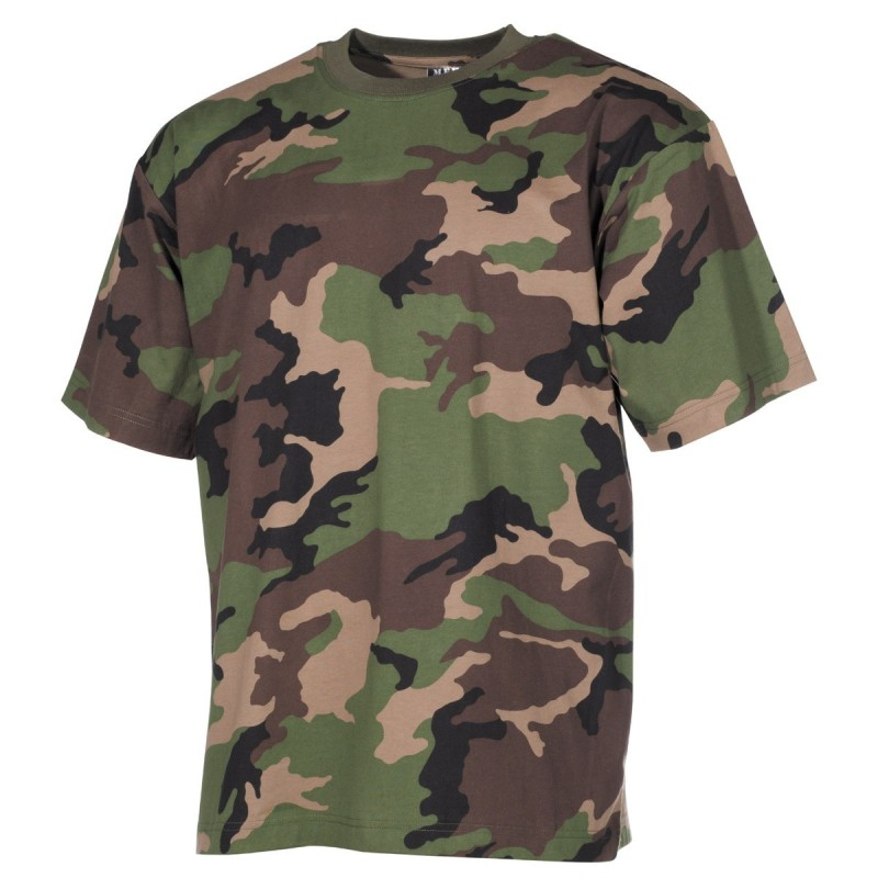 US футболка, в классическом стиле, M 97 SK camo