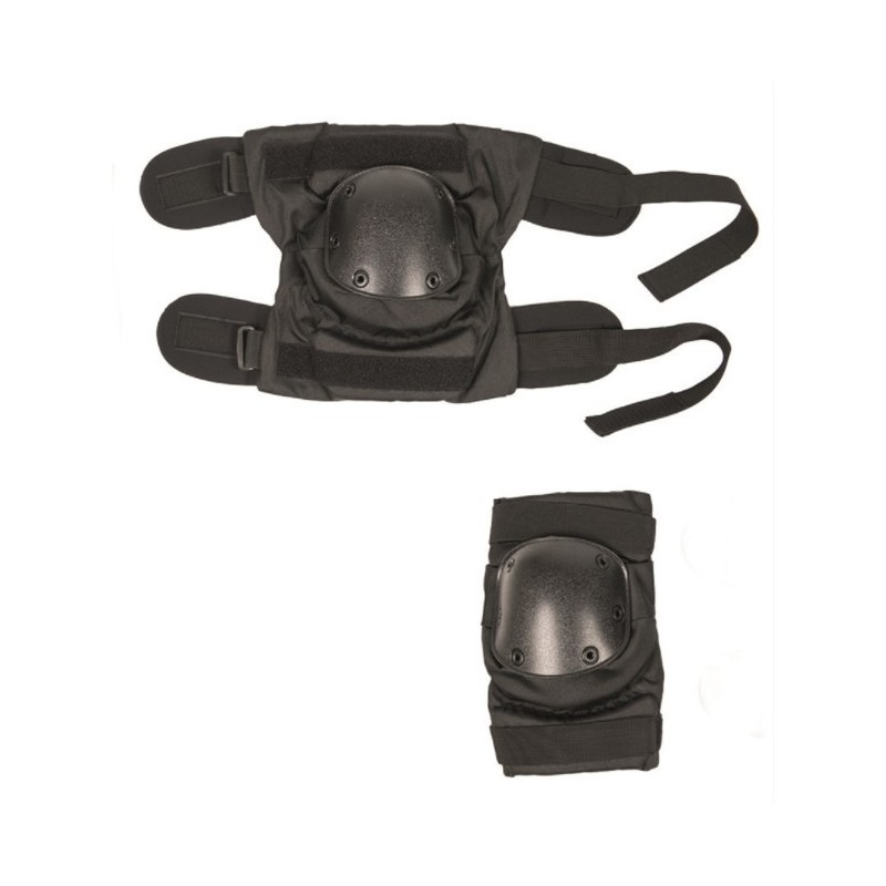 Mil-tec Pull-over Knee Pads, black