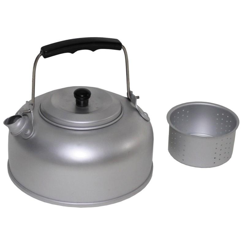Kettle with Tea strainer, aluminum, 0,95 l
