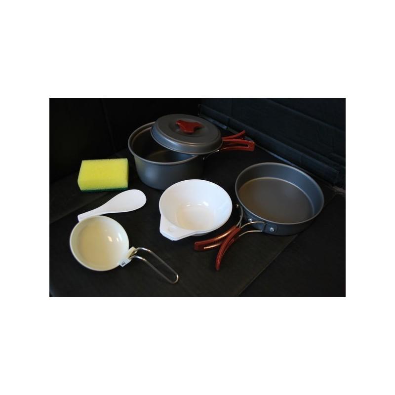 MFH Mess kit, aluminium, anodized, small