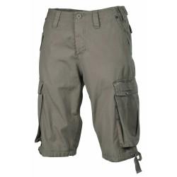 Бермудские брюки, «Троица», Od зеленый - stonewashed