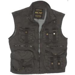 Vintage Survival vest, black