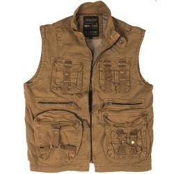 Vintage Survival vest, coyote