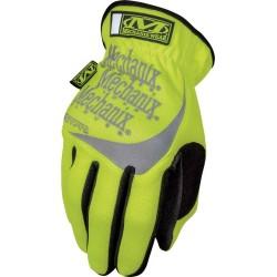 Mechanix Hi-Viz FastFit gloves, yellow