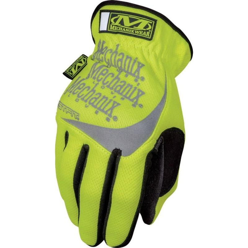 Mechanix Hi-Viz FastFit перчатки, желтый