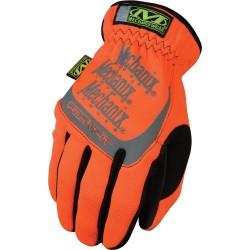 Mechanix Hi-Viz FastFit gloves, orange