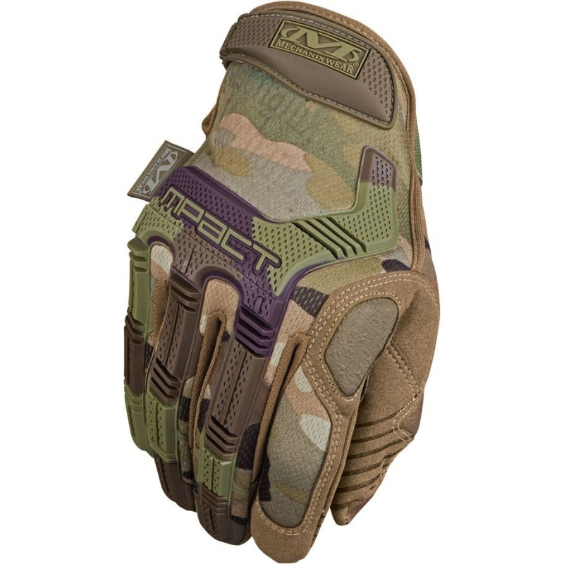 Mechanix M-Pact gloves, Multicam
