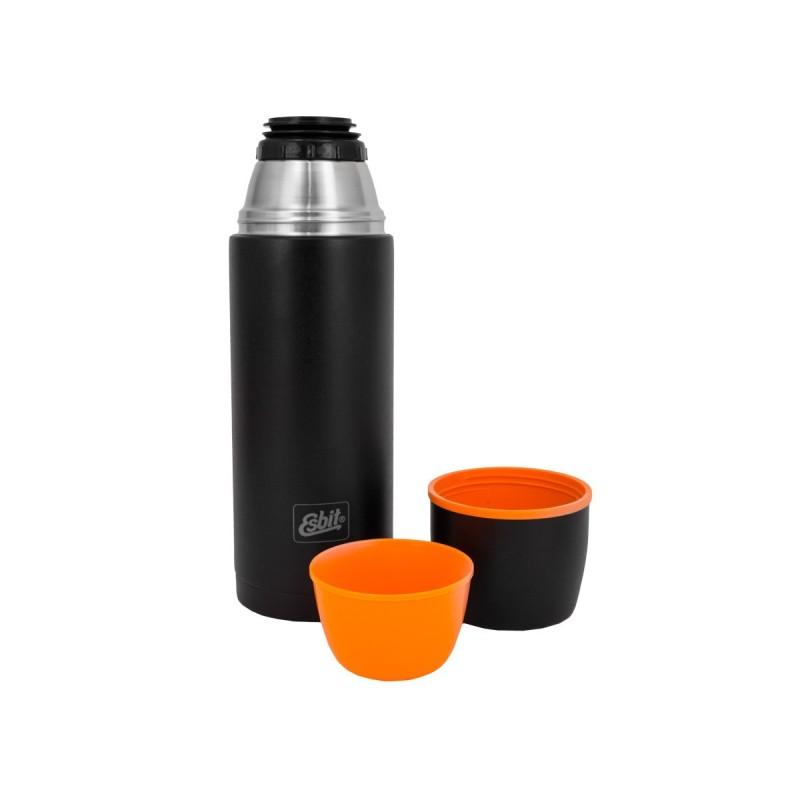 Esbit vacuum thermos bottle, 1.0l, black