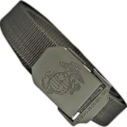 USMC belt, OD green
