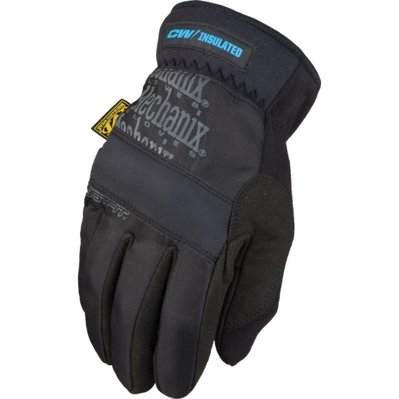Mechanix FastFit Insulated gloves, black