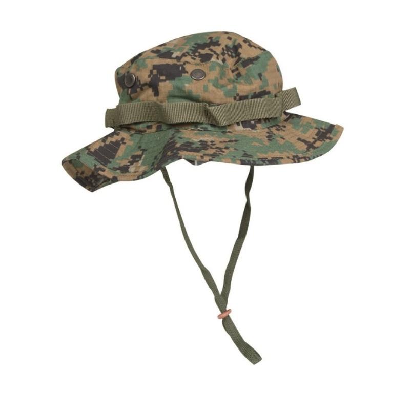 US GI Boonie Hat, Rip Stop, digital woodland