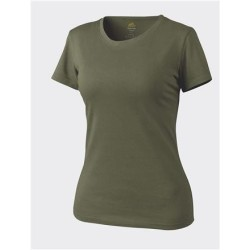 Helikon Klassikaline naiste T-särk, oliivroheline