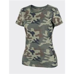 Helikon Classic women T-shirt, PL Woodland