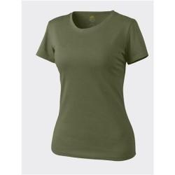 Helikon Klassikaline naiste T-särk, U.S. roheline