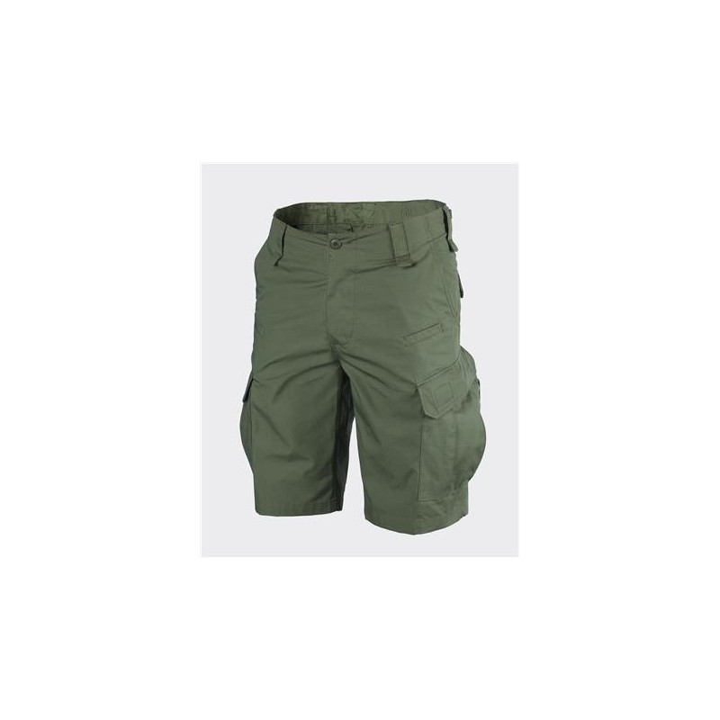 Helikon CPU Shorts - PolyCotton Ripstop - Olive green