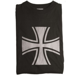"T-shirt ""Balkenkreuz"", black"