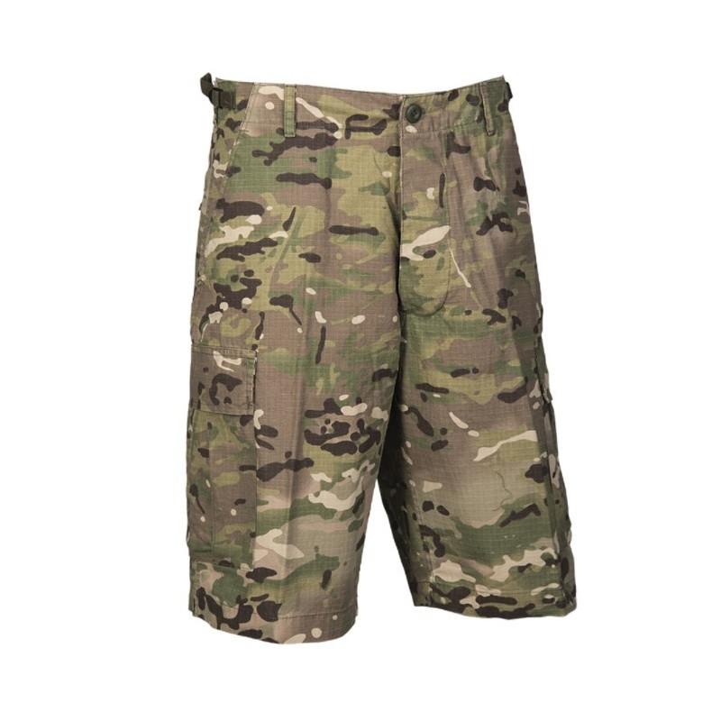 US Bermuda pants prewashed, Multitarn