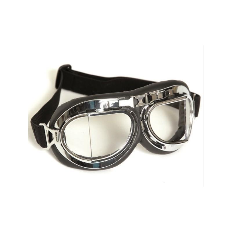 Royal Air Force Aviator goggles, chrome