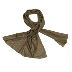 Mil-tec сетчатый шарф, od green