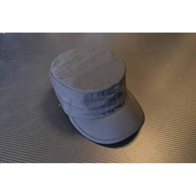 US BDU Field Cap, Rip Stop, black