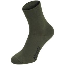 "Socks, ""Bamboo"", OD green, 3 p/pack"