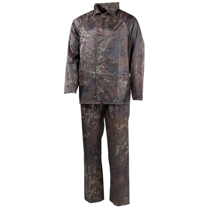 MFH Rain Jacket and pants set, bw camo
