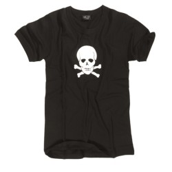 Mil-tec T-shirt - Skull, black