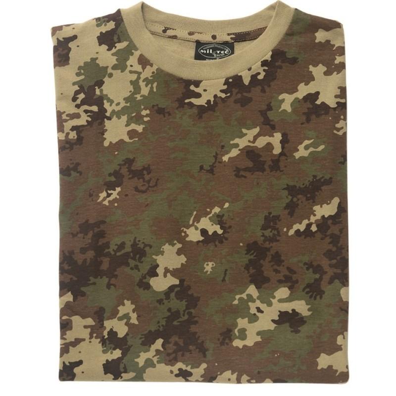 Mil-tec Camo t-shirt, vegetato camo