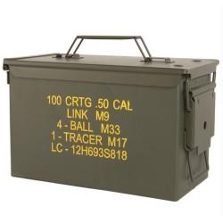 US Padrunikast, cal. 50, M2A1, metal, kirjadega