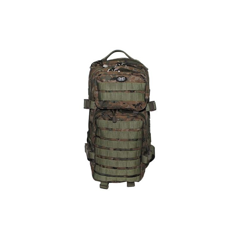 """Backpack """"Assault I"""", digital woodland"""
