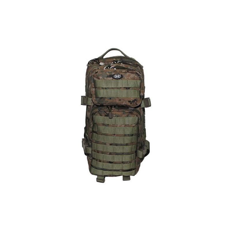 Molle seljakott Assault I 30L - digi metsalaik