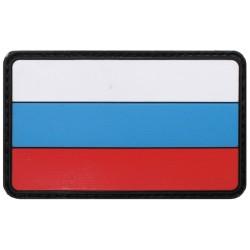 Takjakinnitusega lipu embleem - Venemaa